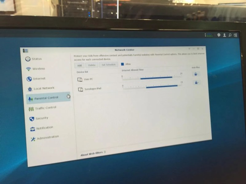 Synology Computex router 8