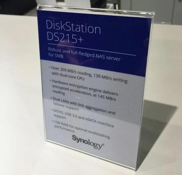 Synology NAS Computex 15