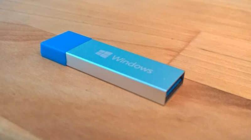 Win10 USB drive