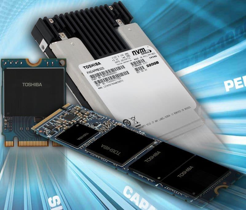 Toshiba NVMe M2 PCIe 2