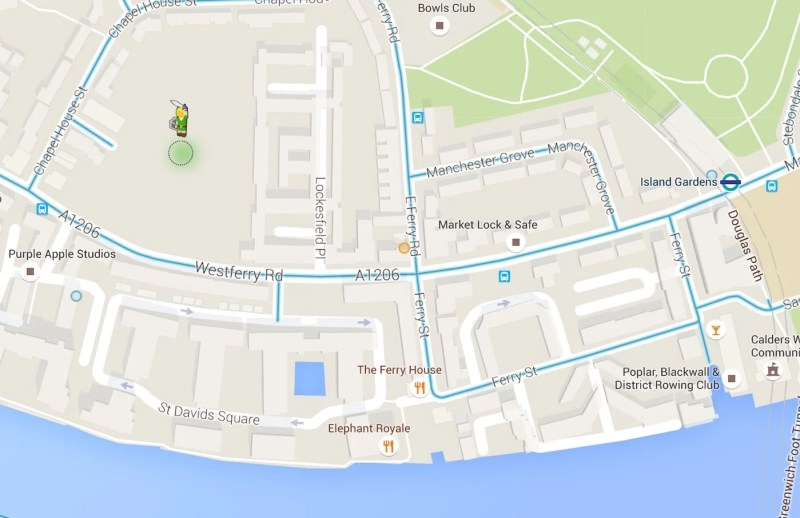Explore Google Maps As Link