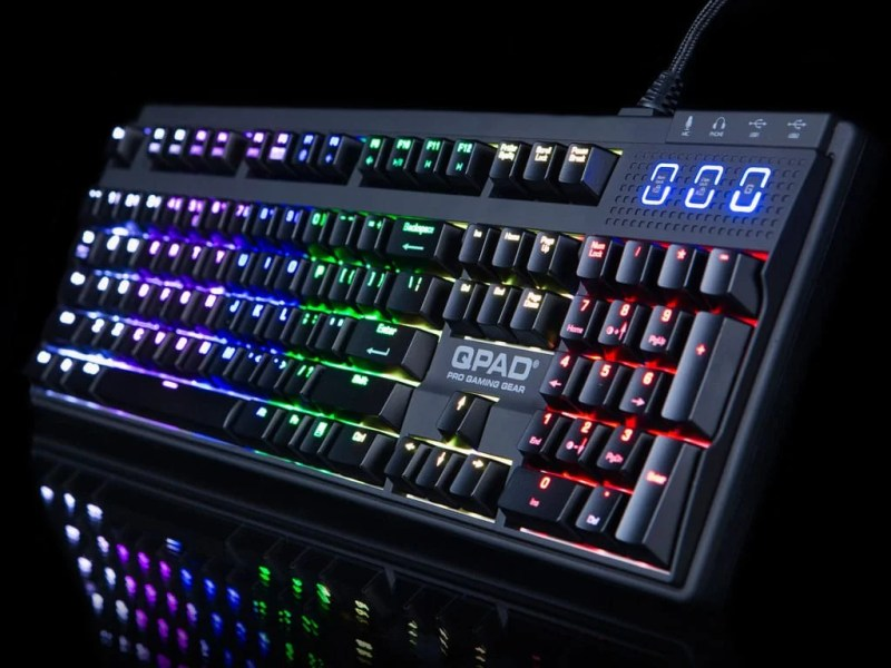 QPAD MK-90 RGB Pro Gaming Mechanical Keyboard Review