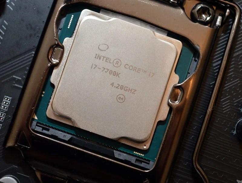 Intel Core i7-7700K Kaby Lake Processor Review