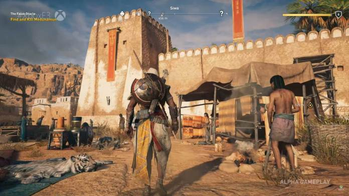 Assassin's Creed Origins Map