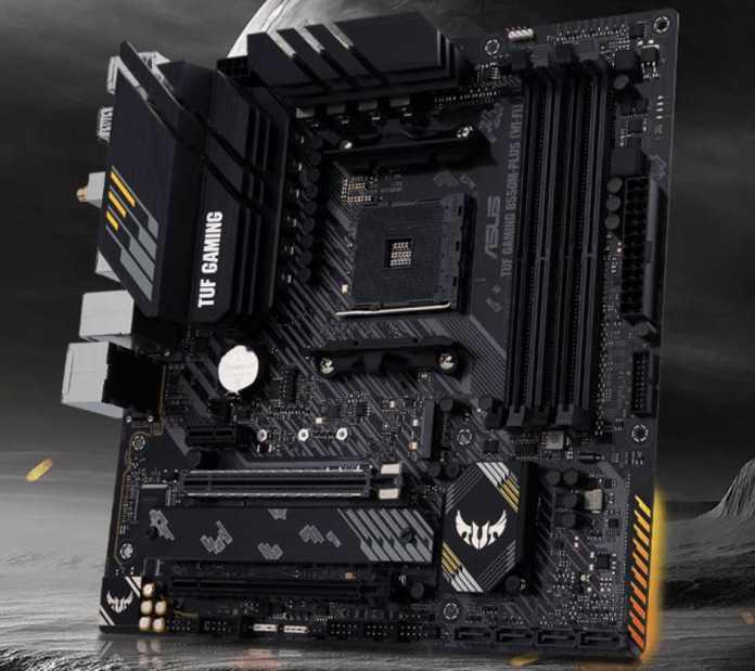 ASUS TUF Gaming B550M-PLUS (Wi-Fi) Motherboard Review | eTeknix