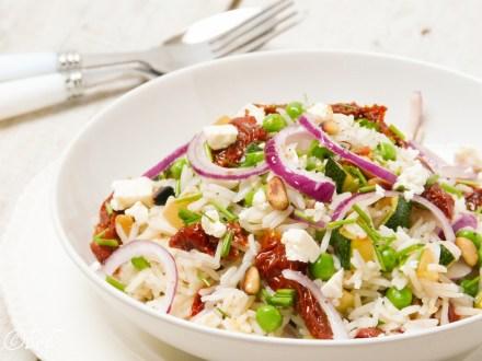 rijstsalade vegetarisch