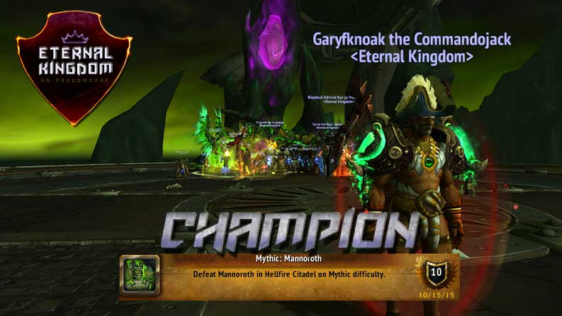Mythic Mannoroth C team