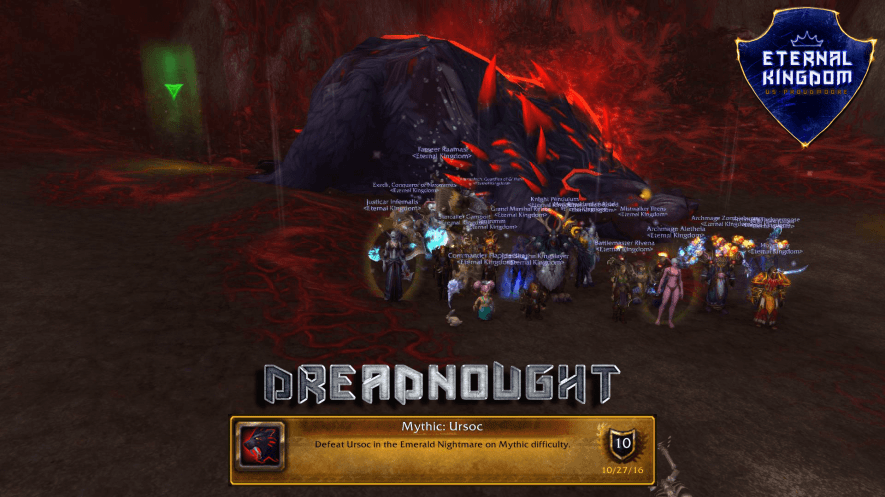 Dreadnought Downs Mythic Ursoc
