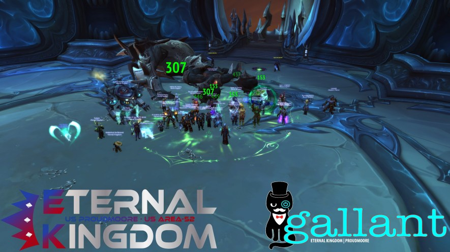 First night in Heroic for Team Gallant!