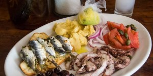Greek cuisine - Loutraki gourmet experience