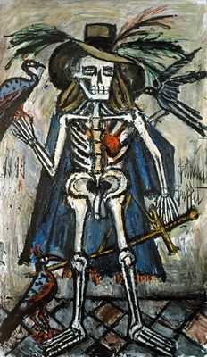La mort, par Bernard Buffet