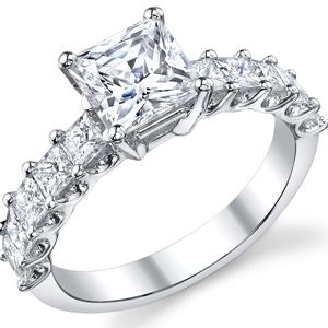 Diamond Eternity Engagement Rings Budget Diamond