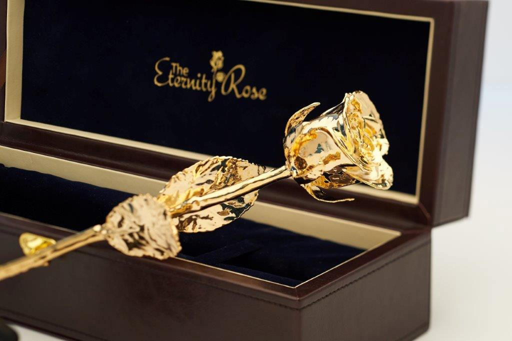 Gifts For Her Gold Dipped Rose