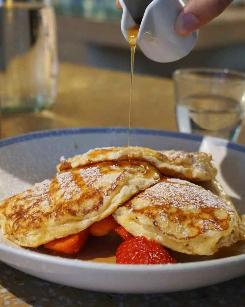 Ricotta Hotcakes at Granger & Co