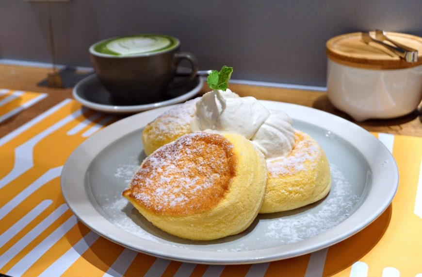 Hong Kong: Flipper's Japanese Souffle Pancakes