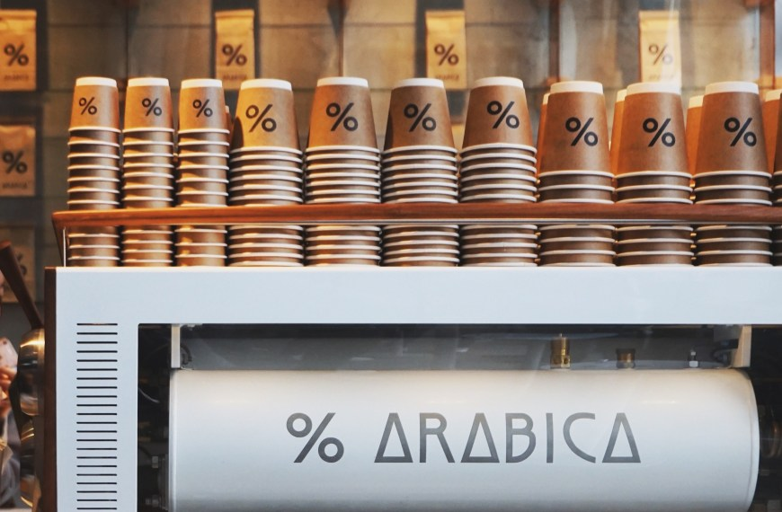 % Arabica Coffee is in London!