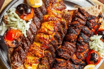 Meat Grill Platter at Berenjak