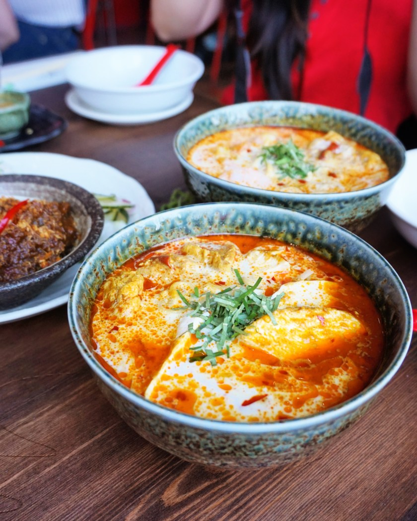 Laksa at Sambal Shiok