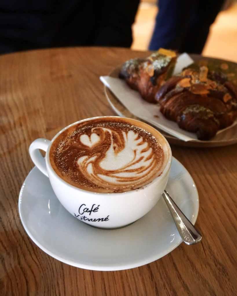 Mochaccino at Cafe Kitsune London