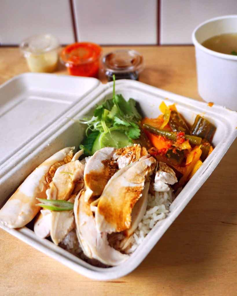 Hainanese Chicken Rice at Mei Mei