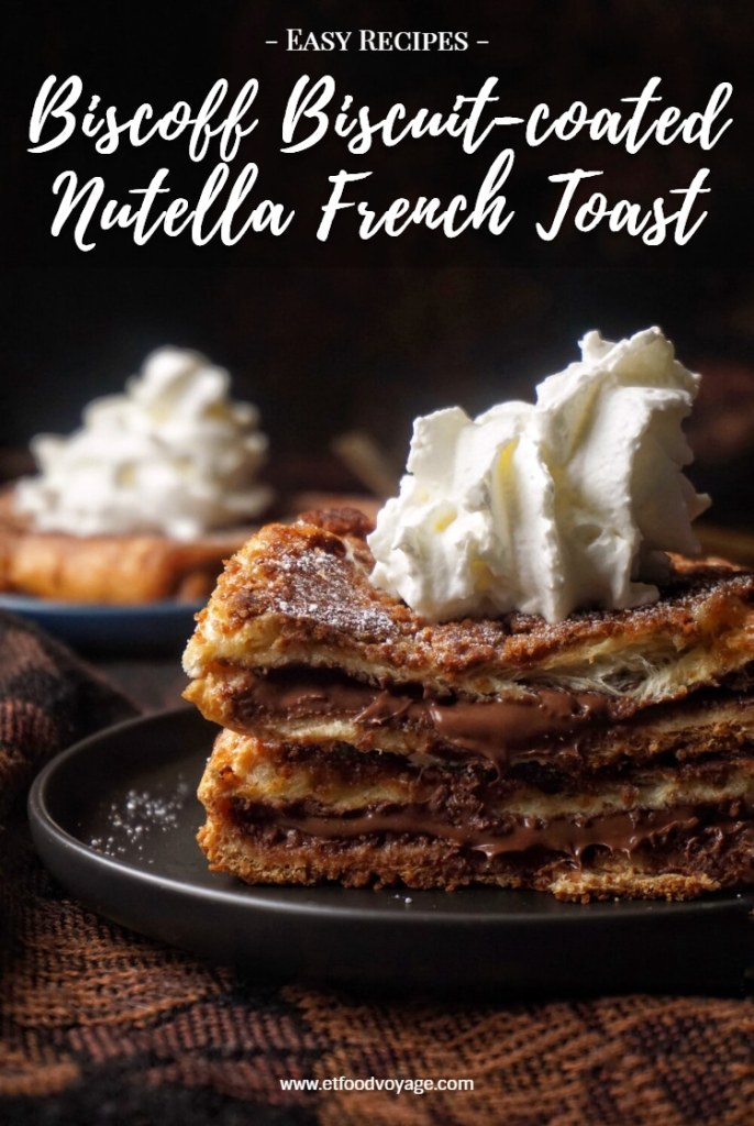 Biscoff Biscuit-coated Nutella French Toast Recipe