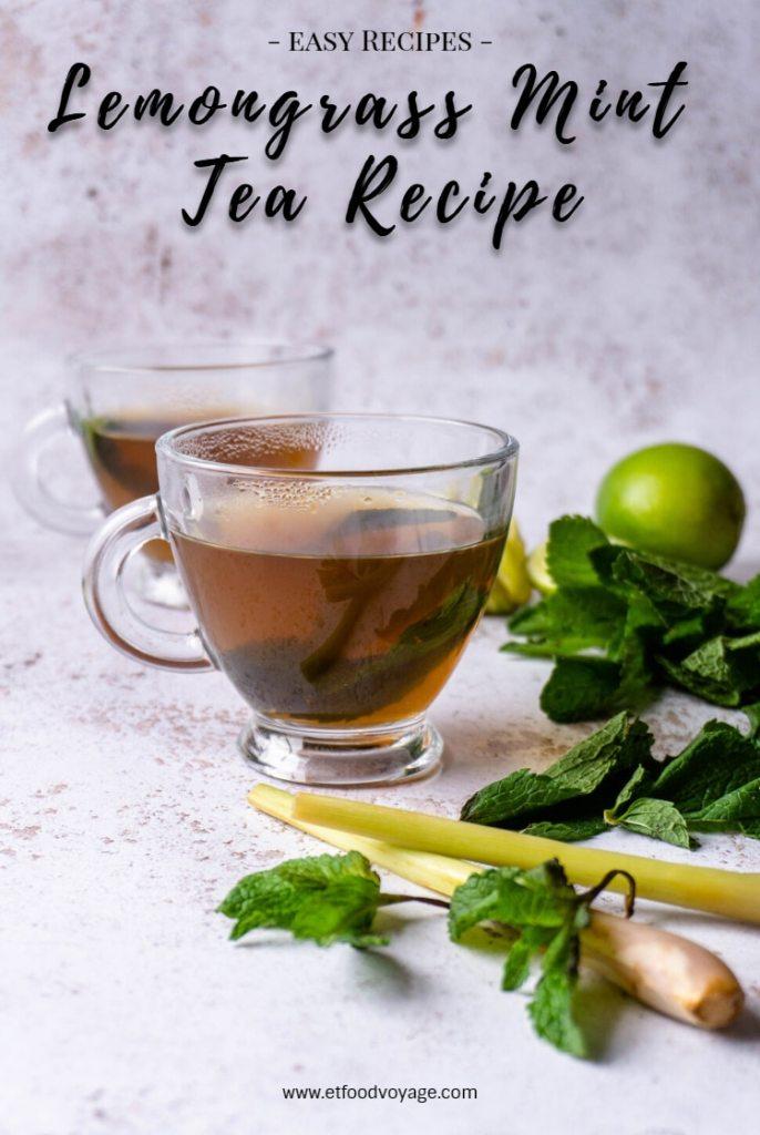 Lemongrass Mint Tea Recipe