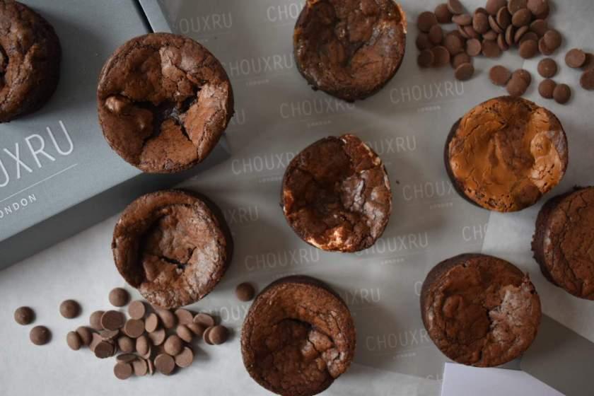 Deep Dish Brownies from Chouxru