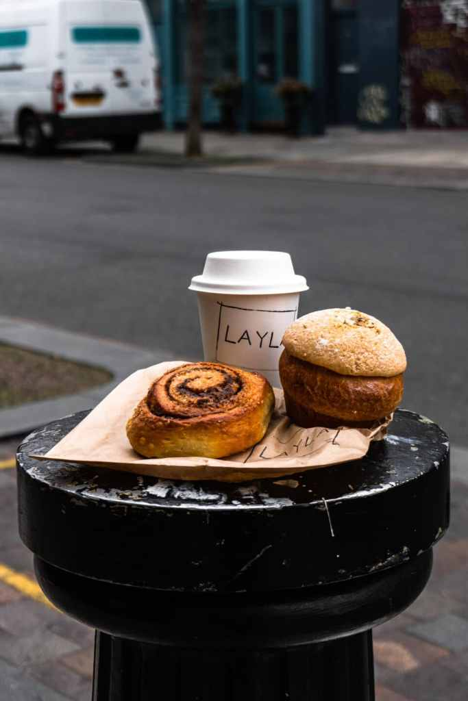 Pastries and Coffee at Layla Bakery