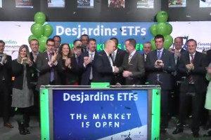 Desjardins ETF Launch Toronto Stock Exchange