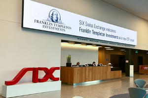 Franklin Templeton lists ETFs on SIX Swiss Exchange