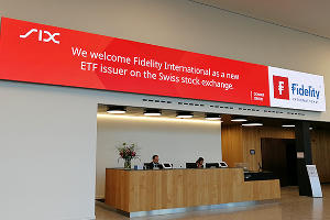 Fidelity International lists ETFs on SIX Swiss Exchange