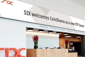 CoinShares launches bitcoin ETP on SIX