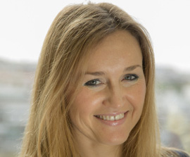 Olga de Tapia, Global Head of ETF Sales at HSBC Asset Management