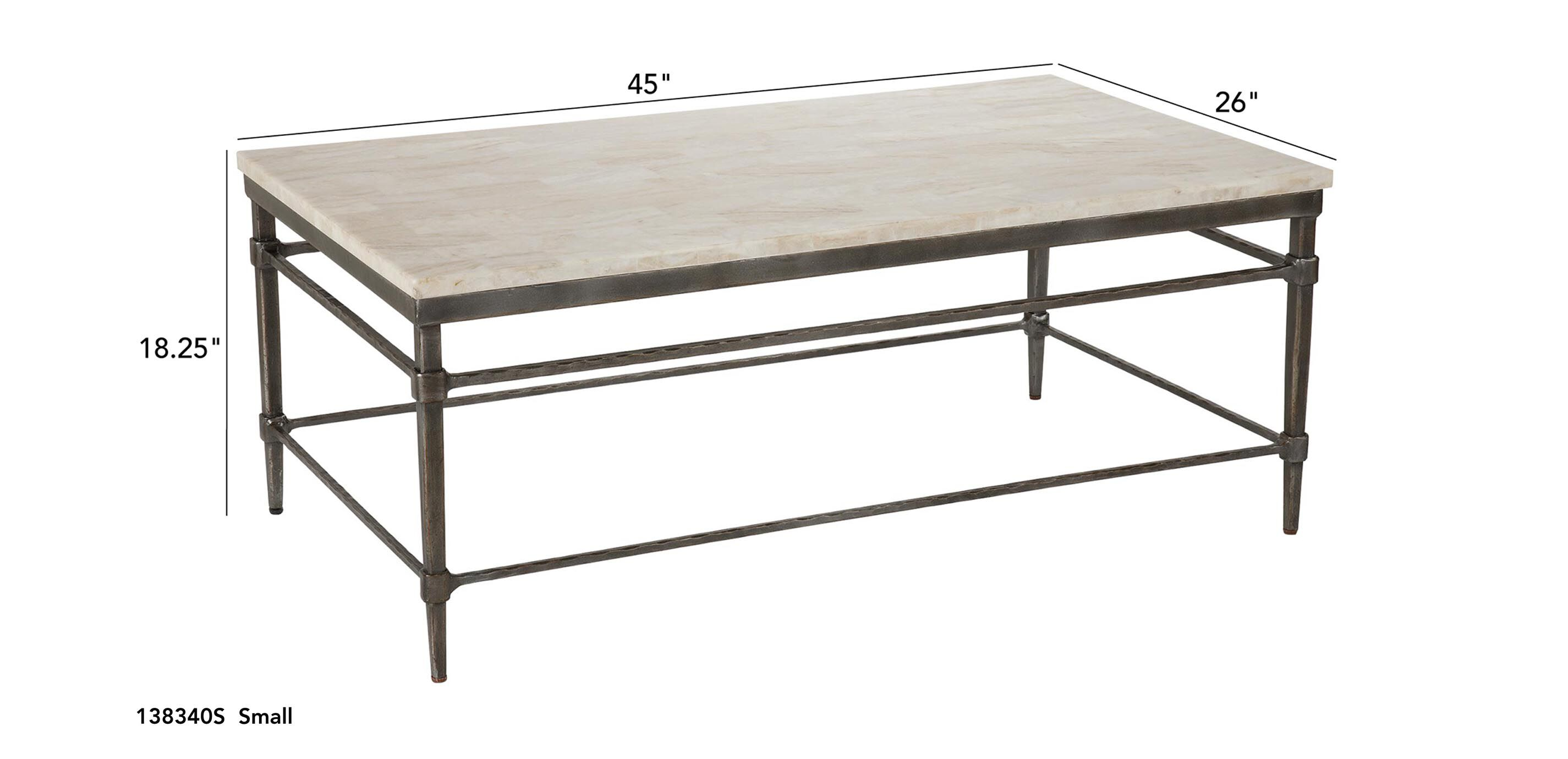 vida stone top coffee table coffee