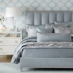 Salena Light Blue Quilted Coverlet And Quilted Shams Ethan Allen