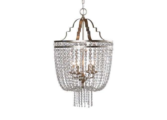 Images Small Alexa Antique Silver Chandelier Large Gray