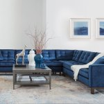 Blue Velvet Living Room Living Room Sectional Ideas Ethan Allen