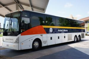 "The Amtrak Bus: your ""train"" ride to LA from Bakersfield"