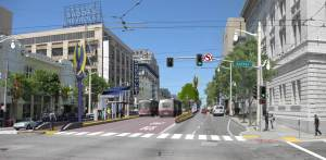 SB 743 reform will allow projects like this Van Ness BRT line to happen much quicker