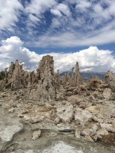 This part of Mono Lake should be underwater by now.
