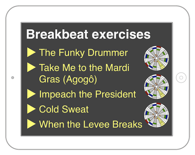 Breakbeat exercises