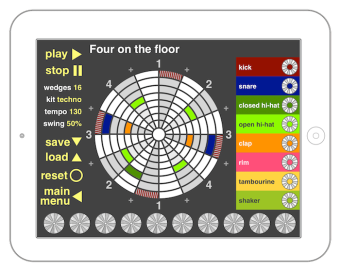 Four on the floor lesson