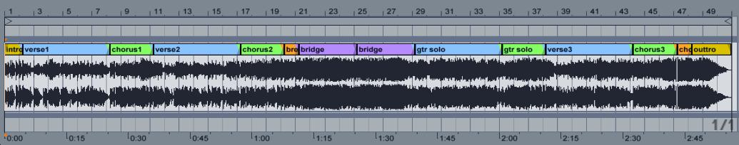Visualizing song structures | The Ethan Hein Blog
