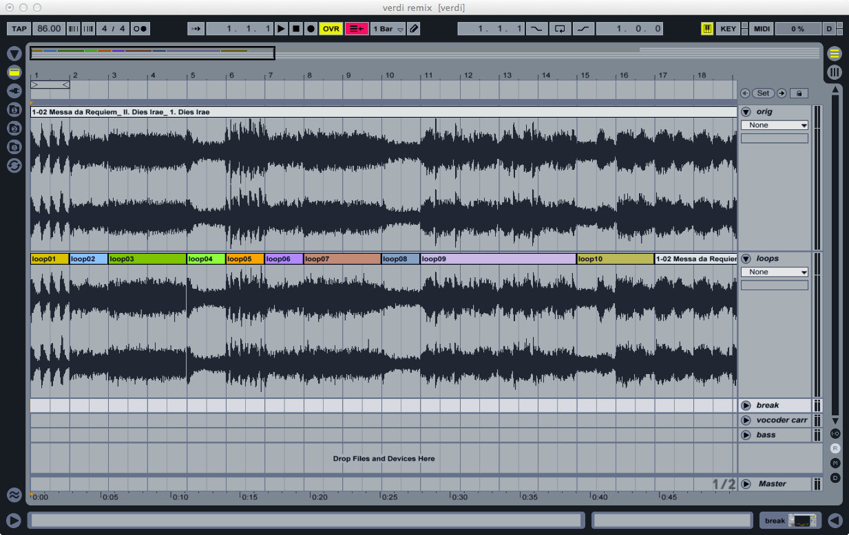 Remixing Verdi with Ableton Live | The Ethan Hein Blog