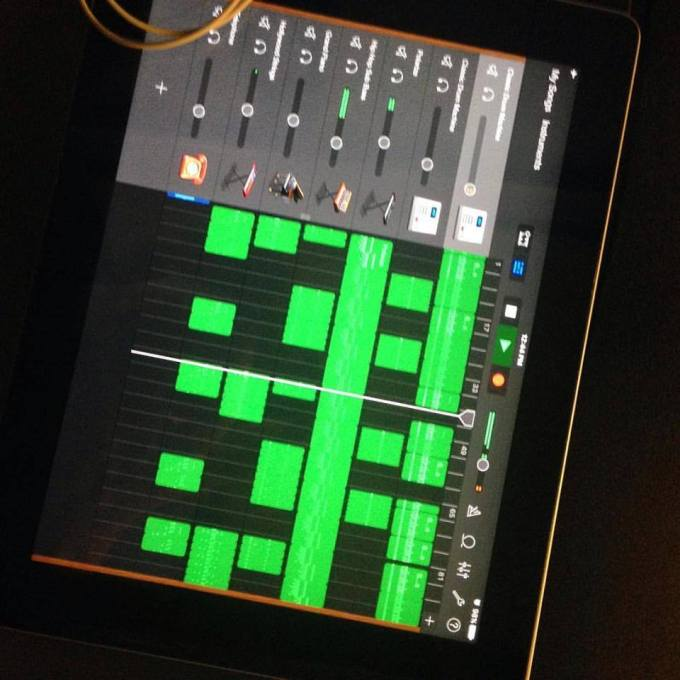 Sullivan Fellows - beatmaking with iOS GarageBand