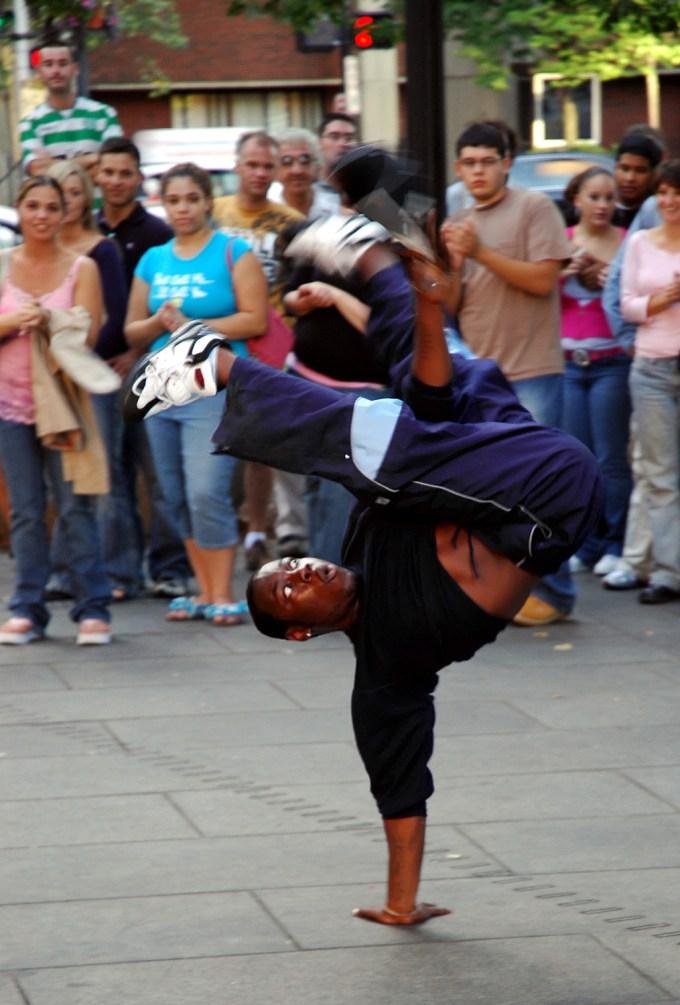 Hip-hop dance: B-boy