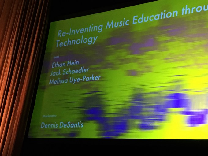 Re-inventing music education through technology