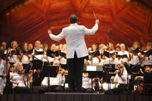 Conducting Orchestra