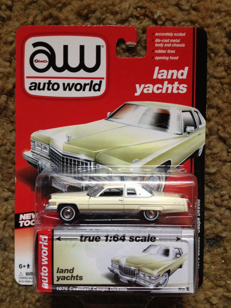 1976 Cadillac Coupe DeVille Toy Car Die Cast And Hot