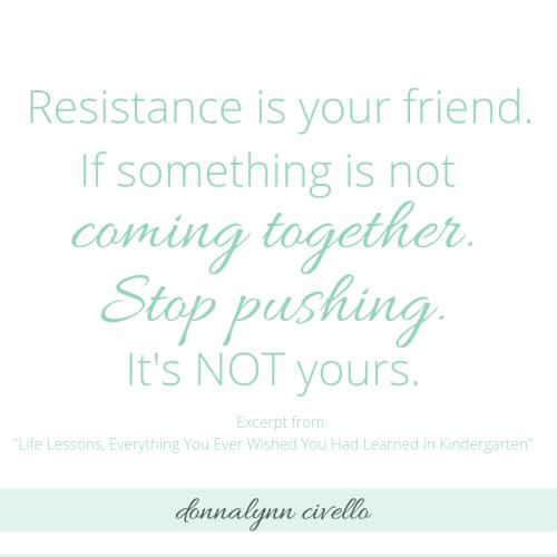 Stop Pushing